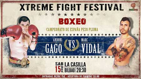 Photo of Boxing Xtreme Fight Festival-Andoni Gago vs Marc Vidal