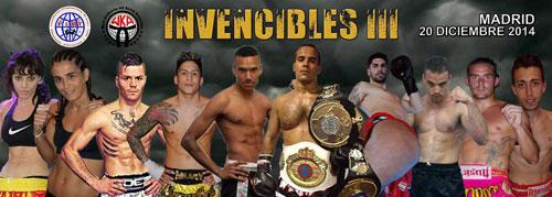 Photo of Invencibles III  – 5 Titulos profesionales en juego