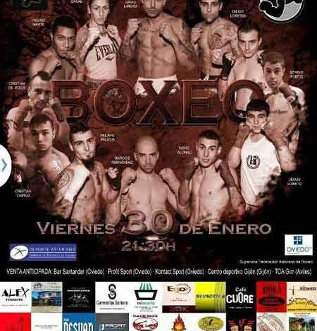 Photo of Velada Boxeo en Oviedo- I Velada Diamante