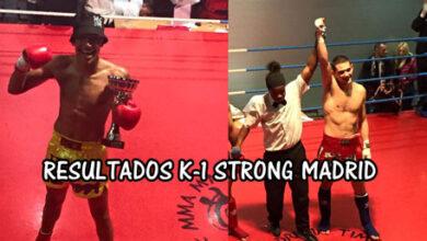 Photo of K-1 Strong Madrid resultados