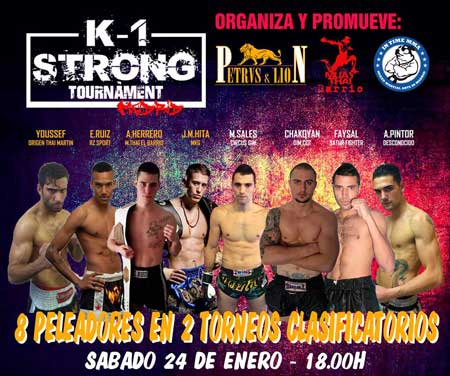 Photo of K-1 Strong Madrid Tournament