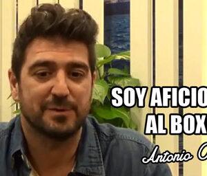 Entrevista a Antonio Orozco donde comenta sus gusto por el boxeo
