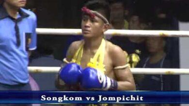 Photo of Video Muay Thai Songkom vs Jompichit