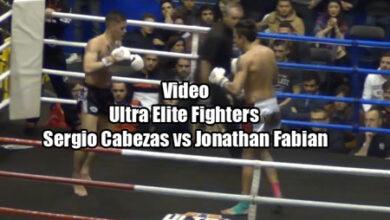 Photo of Video Sergio Cabezas vs Jonathan Fabian  Cto España Muay Thai