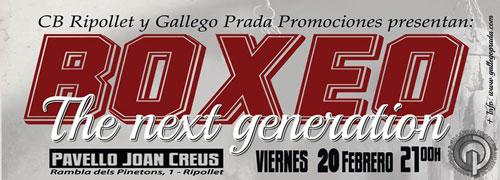 Photo of Velada Boxeo «The Next Generation» en Ripollet