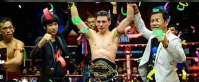 Photo of Mathias Gallo campeón del Max Muay Thai
