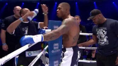Photo of Tyron Spong pelea otra vez en boxeo y gana por KO (Video)