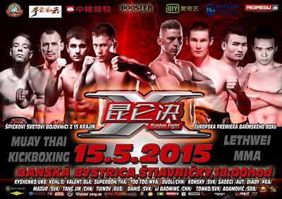 Photo of 2 grandes en el Kunlun Fight