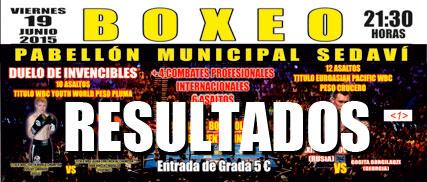 """Photo of Resultados de la velada de Boxeo en Sedaví- Valencia """" Duelo de Invencibles"""""""