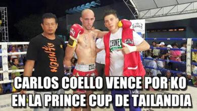 Photo of Carlos Coello vence por KO en la Prince Cup de Tailandia
