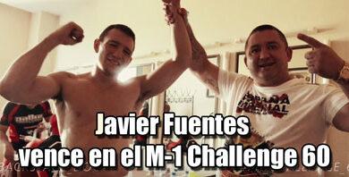 Photo of Javier Fuentes vence en el M-1 Challenge 60