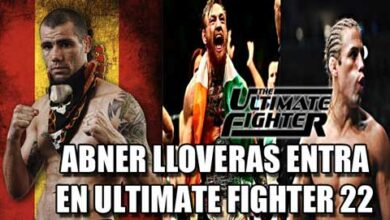 Photo of Abner Lloveras entra en reality Ultimate Fighter 22