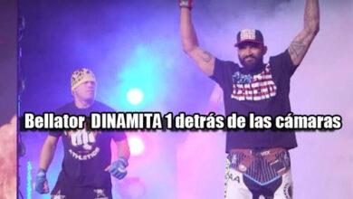 Photo of Detrás de las cámaras Bellator MMA: Dinamita 1