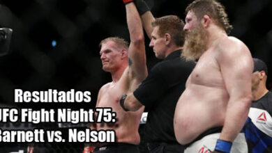 Photo of Resultados UFC Fight Night 75: Barnett vs. Nelson en Japón
