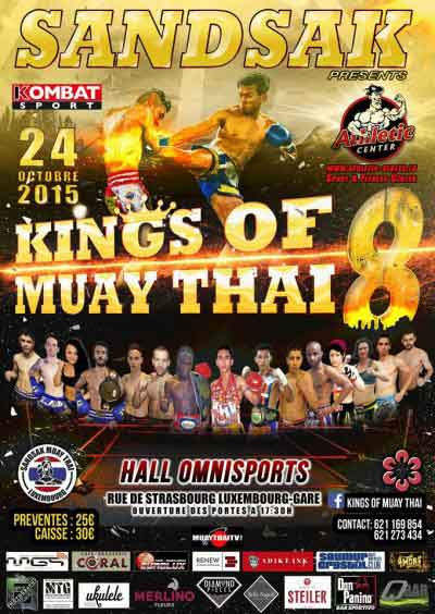 Photo of Kings of Muay Thai 8. Resultados