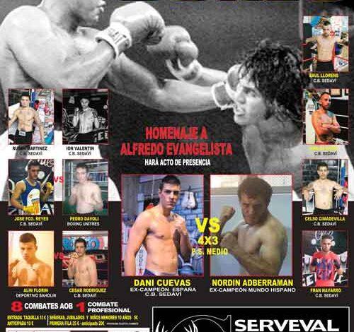 Photo of Resultados velada de Boxeo en Sedavi «Homenaje Alfredo Evangelista»