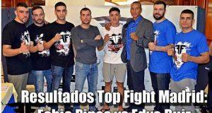 Resultados-Top-Fight-Madrid-Fabio-Pinca-vs-Edye-Ruiz