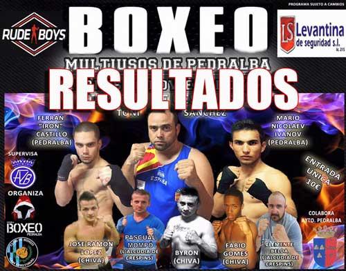 Photo of Resultados Velada de Boxeo en Pedralba -Valencia 20-11-15