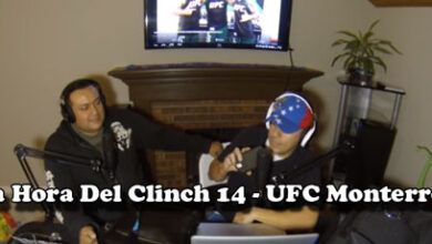 Photo of La Hora Del Clinch 014 – UFC Monterrey
