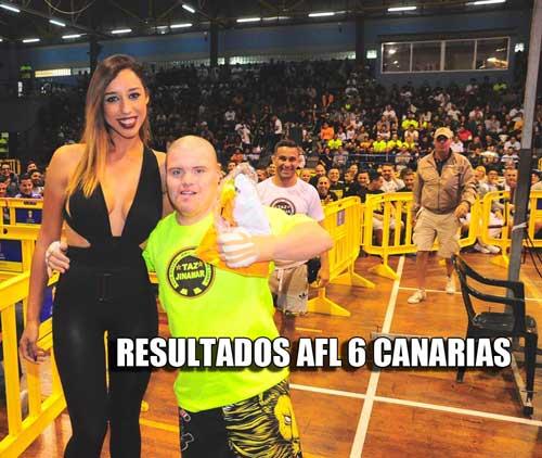Photo of AFL-6 MMA -Canarias resultados completos