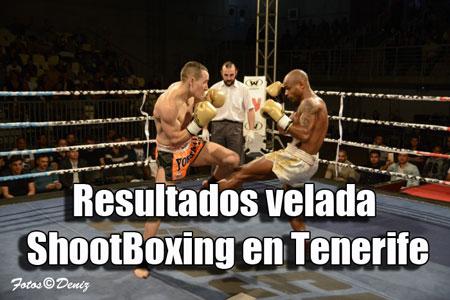 Photo of Resultados velada ShootBoxing en Tenerife