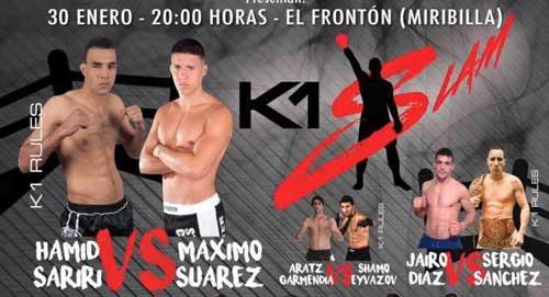 Photo of Velada de K1 Slam «Hamid Sariri vs Máximo Suárez»