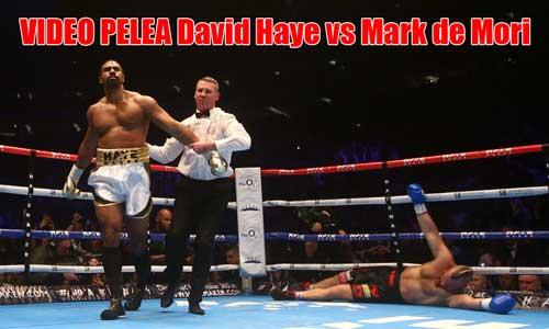 Photo of David Haye vs Mark de Mori video pelea boxeo