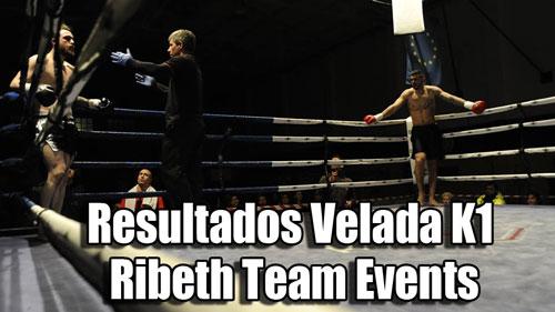 Photo of Resultados velada K1 Ribeth Team Events 6 de Febrero