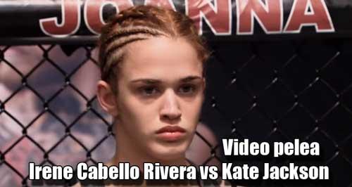 Photo of Video pelea de Irene Cabello en The Ultimate Fighter 23