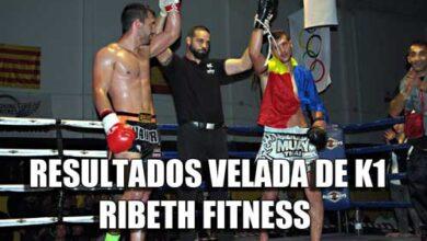 Photo of Resultados velada de K1de RibethFitness en Picanya