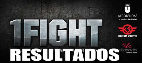 Photo of Resultados velada 1Fight- Madrid