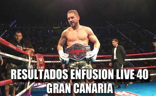 Photo of Resultados Enfusion Live 40 # Gran Canaria
