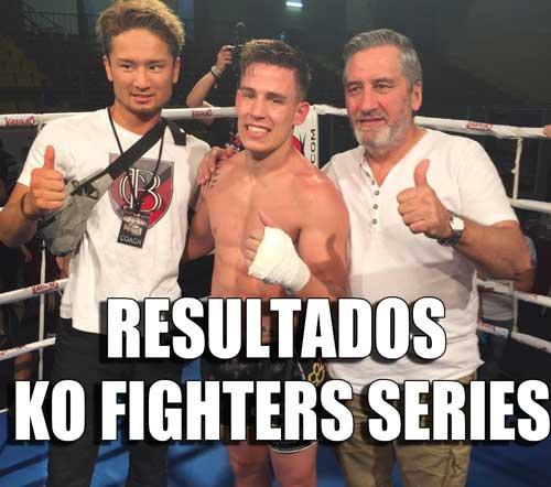 Photo of Resultados KO Fighters Series en Córdoba