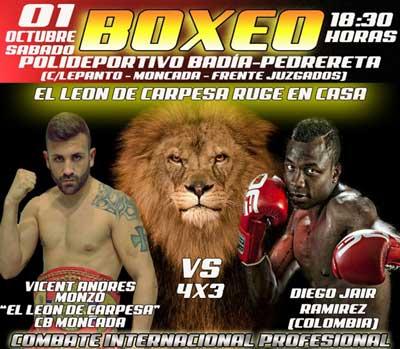 Velada de boxeo en moncada valencia 01 10 16 spaceboxing for Juzgado de moncada