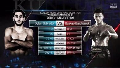 Photo of Buakaw vs Dylan Salvador video pelea