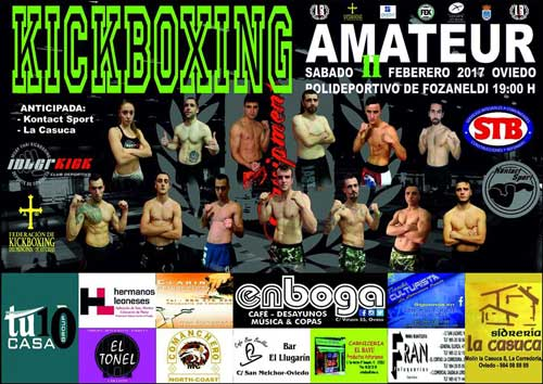 Photo of Gala de KickBoxing Amateur en Oviedo