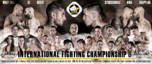 Photo of IFC6 Lista de peleadores completo