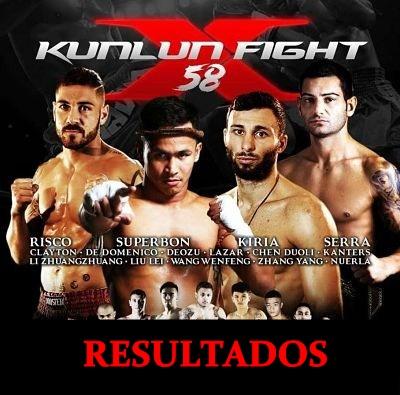 Photo of Kunlun Fight 58 Resultados