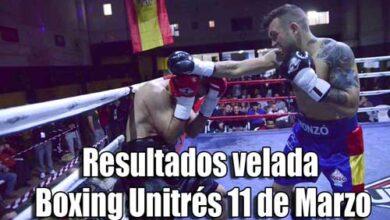Photo of Resultados velada Boxing Unitrés 11 de Marzo-Valencia
