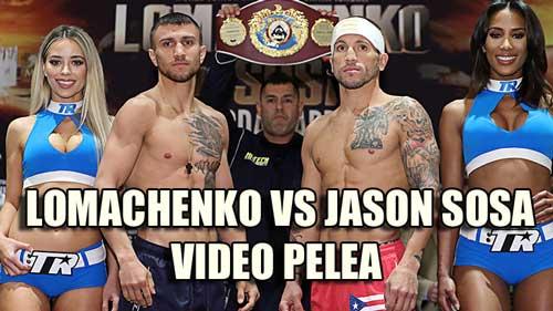 Photo of Video pelea Vasyl Lomachenko vs Jason Sosa