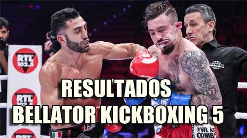 Photo of Bellator Kickboxing 5 resultados