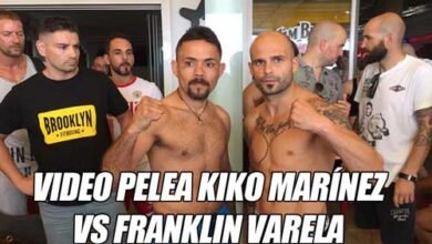 Photo of Video Kiko Martinez vs Fraklin Varela -Boxeo