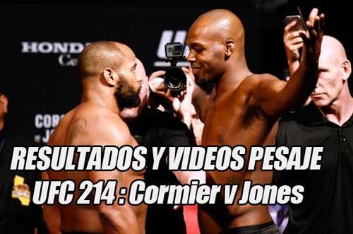 Photo of Resultados pesaje UFC 214: Todas las peleas confirmadas