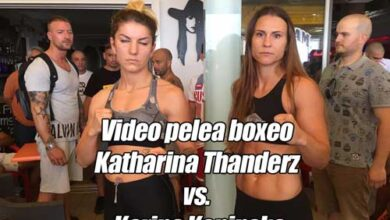Photo of Video Katharina Thanderz vs. Karina Kopinska