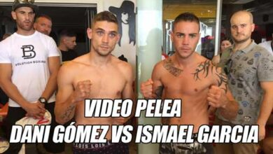 Photo of Video Dani Gómez vs Ismael Garcia