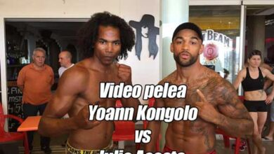 Photo of Video Yoann Kongolo vs Julio Acosta