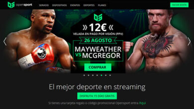 Photo of Mayweather – McGregor en directo en OpenSport