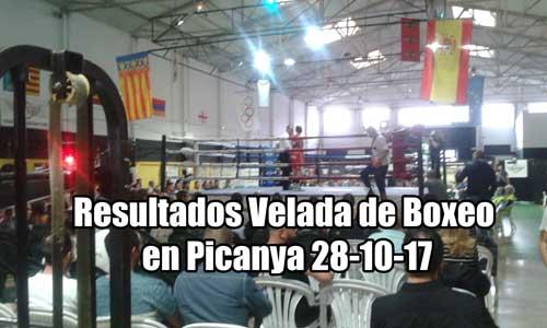 Photo of Resultados Velada de Boxeo en Picanya 28-10-17