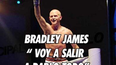 Photo of Bradley James » Voy a salir a darlo todo, quiero el  cinturón «