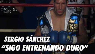 Photo of Sergio Sánchez » Sigo entrenando duro como siempre»
